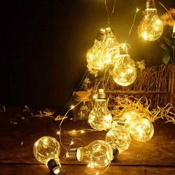 Гирлянда лампочки 3 м